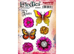 PaperArtsy Tracy Scott 20 ETS20 A5 Stamp Set