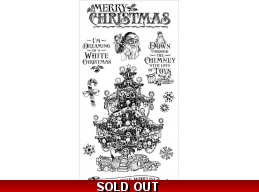Graphic 45 St. Nicholas Cling Stamp Set - 2