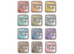 Tim Holtz Distress OXIDES INK PAD SET OF 12, First Release