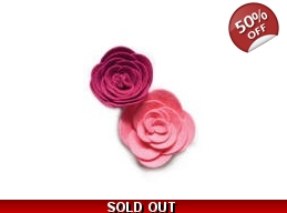 SALE Memory Box Plush Ranunculus Die Set