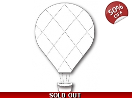 SALE Memory Box Grand Quilted Balloon Die Set