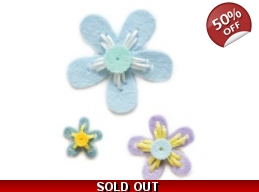 SALE Memory Box Plush Prairie Flowers Die Set