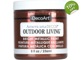 Copper | Americana Decor Outdoor Living Metallics 8oz