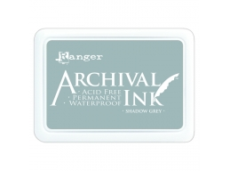 Ranger Archival Ink Pad - Shadow Grey - 90mm x 62mm