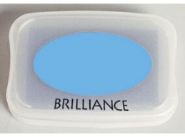 Pearlescent Sky Blue Brilliance Pad