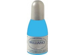 Pearlescent Sky Blue Tsukineko - Brilliance Refill Inks