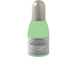 Pearlescent Lime Tsukineko - Brilliance Refill Inks