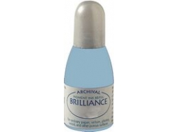 Pearlescent Ice Blue Tsukineko - Brilliance Refill Inks