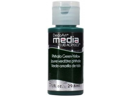 Phthalo Green-Yellow Media Paint