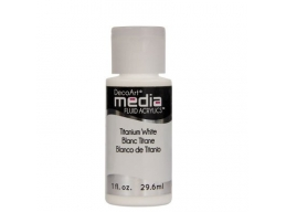 Titanium White Media Paint