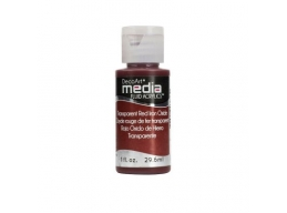Transparent Red Iron Oxide Media Paint