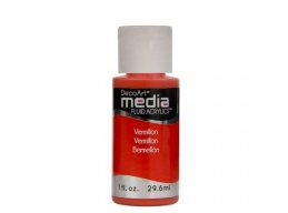 Vermillion Media Paint