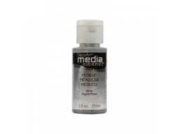 Silver Metallic Media Paint