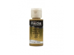 Gold Metallic Media Paint