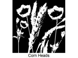 Art Stamps - Corn Heads