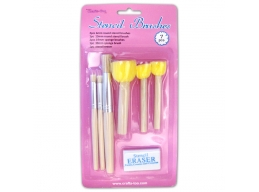 Crafts Too - Stencil Brushes 7pcs
