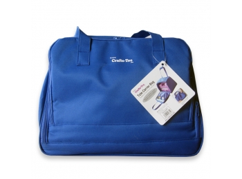 Crafts Too Die Cutting Machine Storage Bag in Blue