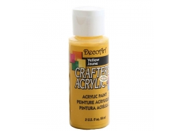 Crafters Acrylic - Yellow DCA04