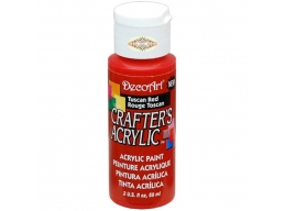 Crafters Acrylic - Tuscan Red DCA126