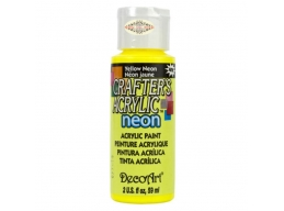 Crafters Acrylic - Yellow Neon DCA131