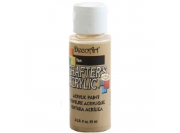 Crafters Acrylic - Tan DCA15