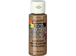 Crafters Acrylic - Soft suede DCA60