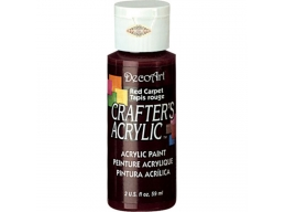 Crafters Acrylic - Red Carpet DCA64
