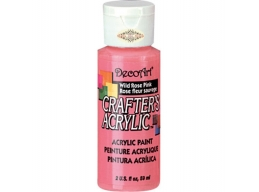 Crafters Acrylic - Wild Rose Pink DCA69