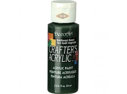 Crafters Acrylic - Rainforest Green DCA91