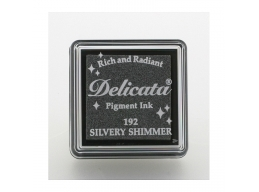 Tsukineko - Delicata Silvery Shimmer Small Ink Pad | Art of Stourbridge