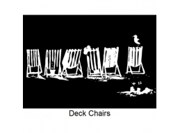 Art Stamps - Deck Chairs