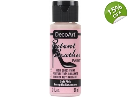 Soft Pink Patent Leather 2oz | Decoart