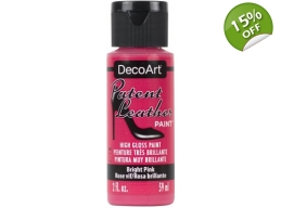 Bright Pink Patent Leather 2oz | Decoart