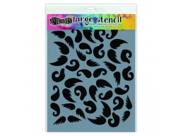 Stash of Tache - Dylusions - Stencils - 9x12