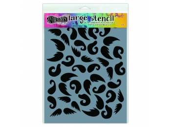 Stash of Tache - Dylusions - Stencils - 9x12""