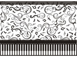 Cheery Lynn Designs Embossing Plate - Ebony and Ivory