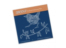 Wren & Leaves Groovi Baby Plate A6