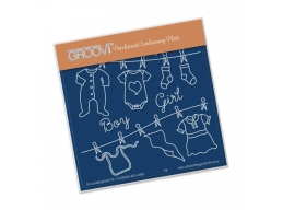 Baby Clothes Groovi Baby Plate A6