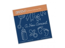 A New Arrival Groovi Baby Plate A6