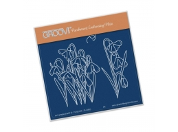 Snowdrops Groovi Baby Plate A6