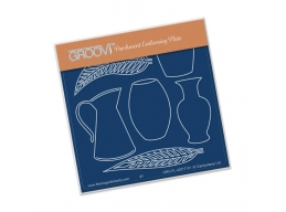 Vases Groovi Baby Plate A6