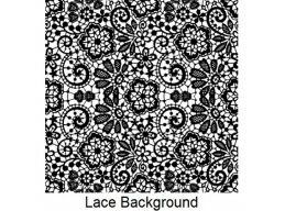 Art Stamps - Lace Background