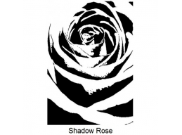 Art Stamps - Shadow Rose