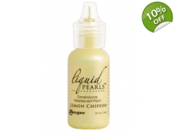Ranger Liquid Pearls - Lemon Chiffon