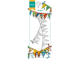 Clear Stamp Hettys Border - Garland
