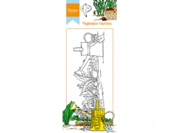 Hettys Border: Vegetable Garden Clear Stamps