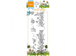 Hettys Border: Flower Meadow Clear Stamps