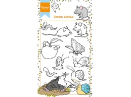 Hettys Garden Animals Clear Stamps