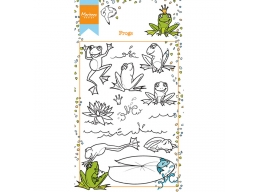 Hettys Clear Stamp Frogs
