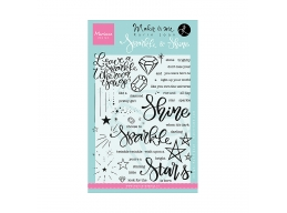 Sparkle And Shine Clear Stamps